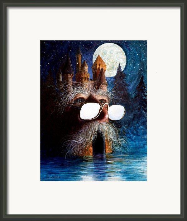 Casolgye Framed Print By Frank Robert Dixon