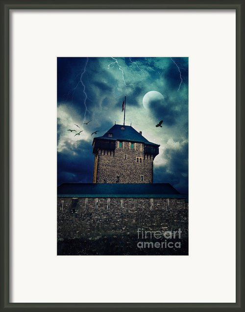 Castle Burg Framed Print By Angela Doelling Ad Design Photo And Photoart