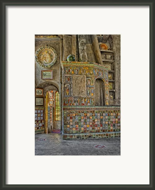 Castle Salon Framed Print By Susan Candelario