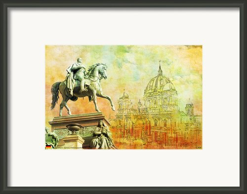 Cathedral De Berlin Framed Print By Catf