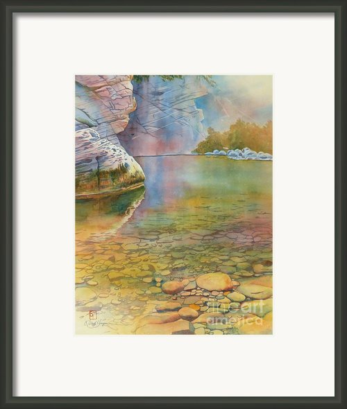 Cave Springs Framed Print By Robert Hooper