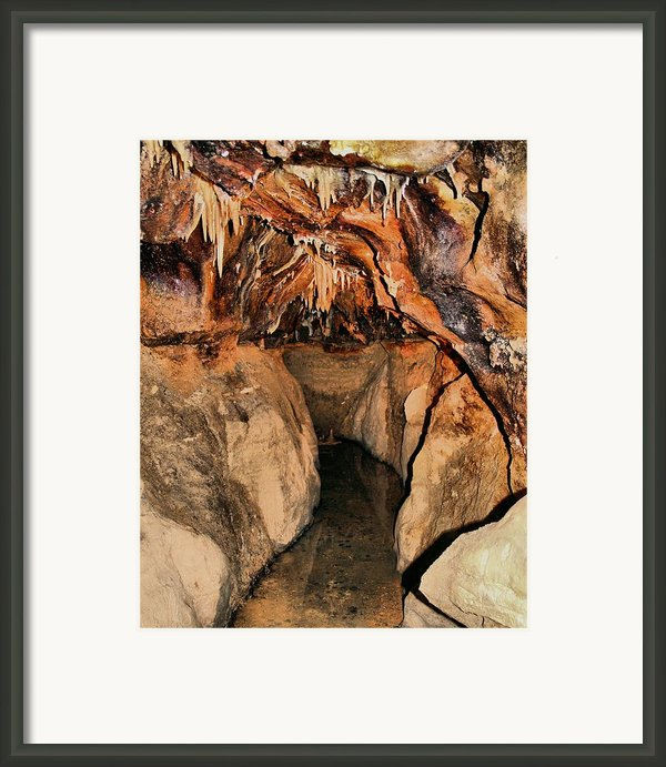 Cavern Path Framed Print By Dan Sproul