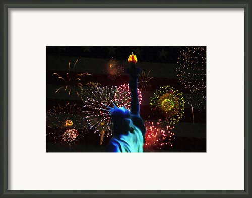 Celebrate America Framed Print By Bill Cannon