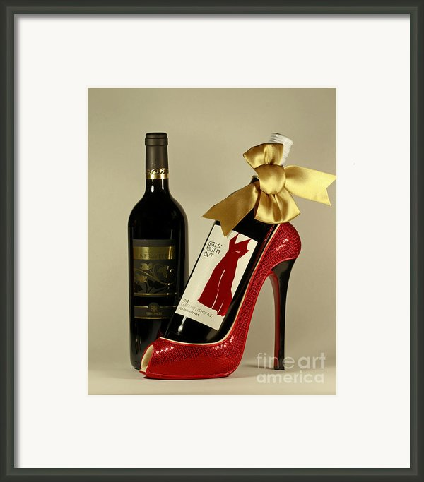 Celebrate In Style With Merlot And Cabernet Framed Print By Inspired Nature Photography By Shelley Myke