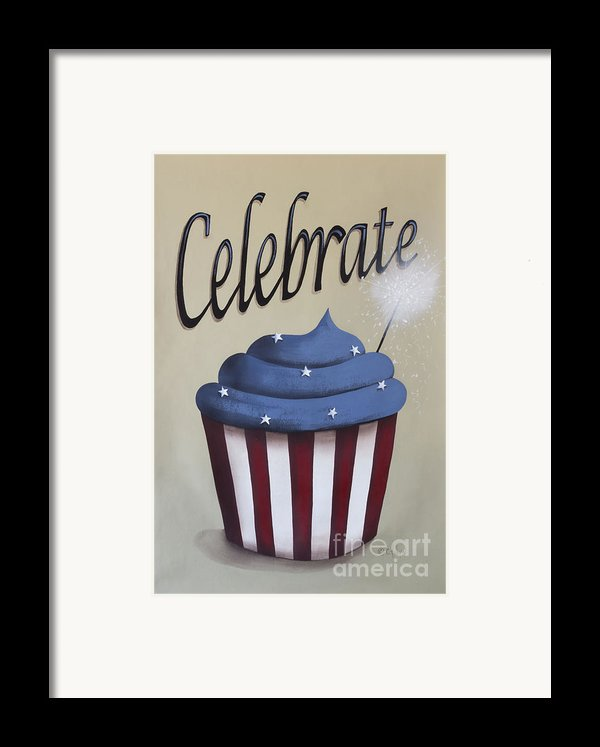 Celebrate The 4th Of July Framed Print By Catherine Holman