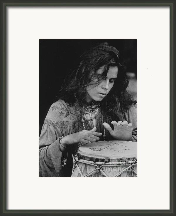 Celebrating Woodstock Framed Print By Andrew Govan Dantzler