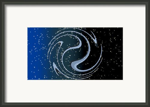 Celestial Breathing - Digital Abstract Framed Print By Wendy J St Christopher