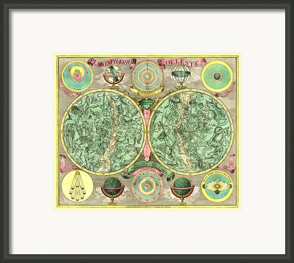 Celestial Map Framed Print By Gary Grayson