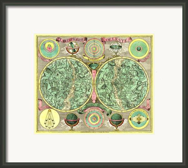 Celestial Map Framed Print By Gary Grayson