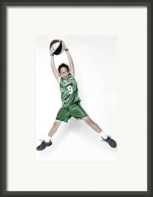 Celtics Fan Framed Print By Tolga Kavut