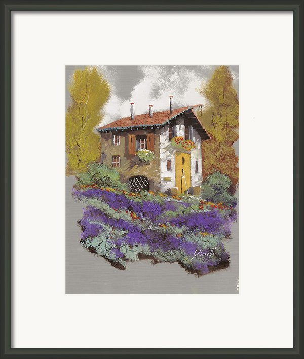 Cento Lavande Framed Print By Guido Borelli