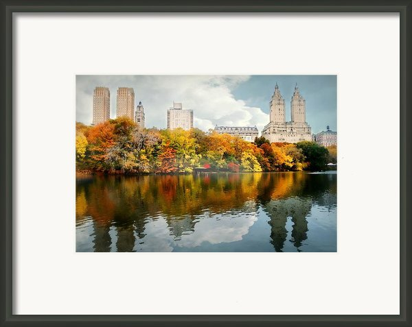 Central Park #1 Framed Print By Diana Angstadt
