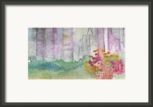 Central Park  Framed Print By Linda Woods