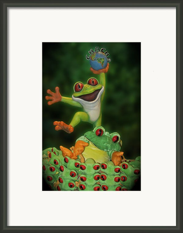 Cha Cha Sign Framed Print By Thomas Woolworth