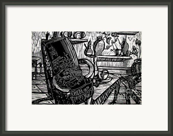 Chair Of My Dream Final Stage  Framed Print By Charlie Spear