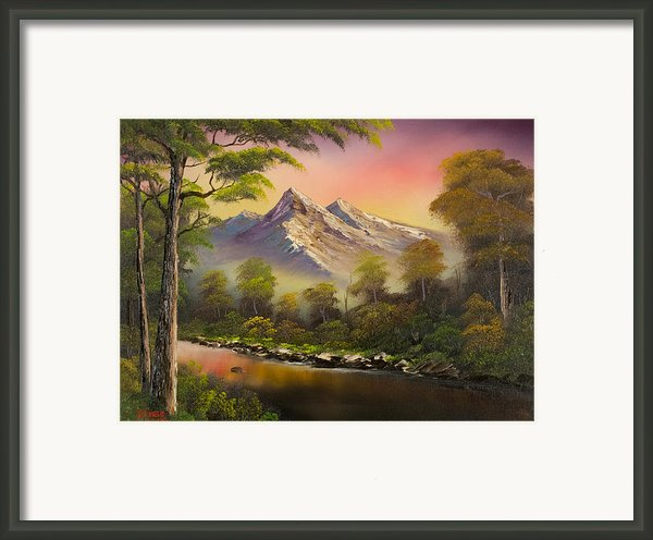 Change Of Seasons Framed Print By C Steele