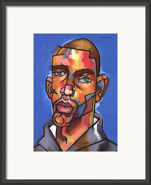 Channing Framed Print By Douglas Simonson