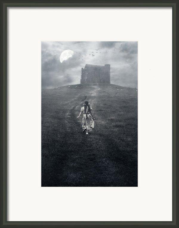 Chapel In Mist Framed Print By Joana Kruse