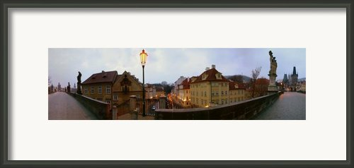 Charles Bridge 180 Framed Print By Gary Lobdell