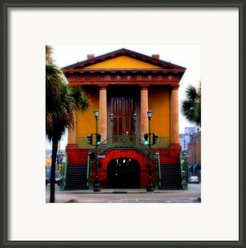 Charleston Framed Print By Karen Wiles