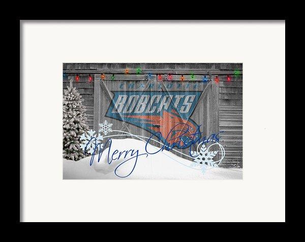 Charlotte Bobcats Framed Print By Joe Hamilton
