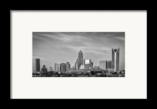 Charlotte Chrome Framed Print By Brian Young