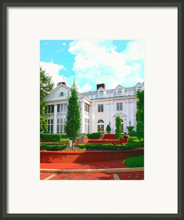 Charlotte Estate Charlotte Nc Framed Print By William Dey