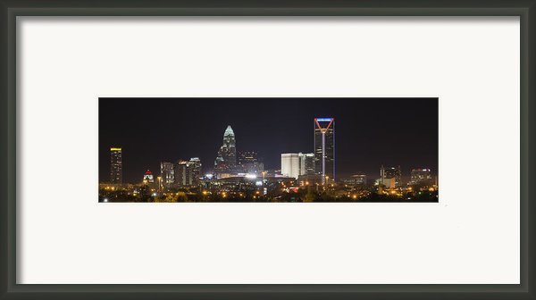 Charlotte Game Night Framed Print By Brian Young