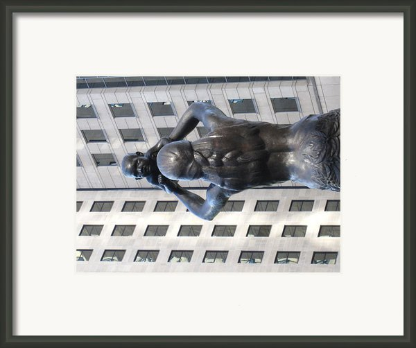 Charlotte Nc - 12122 Framed Print By Dc Photographer