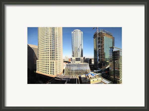 Charlotte Nc - 12129 Framed Print By Dc Photographer