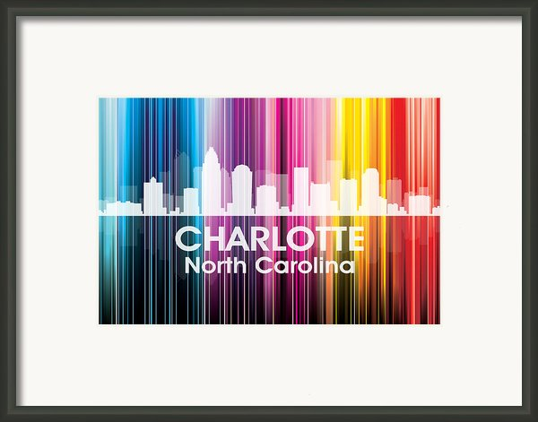 Charlotte Nc 2 Framed Print By Angelina Vick