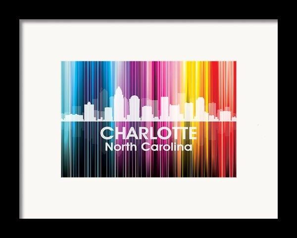 Charlotte Nc 2 Framed Print By Angelina Vick