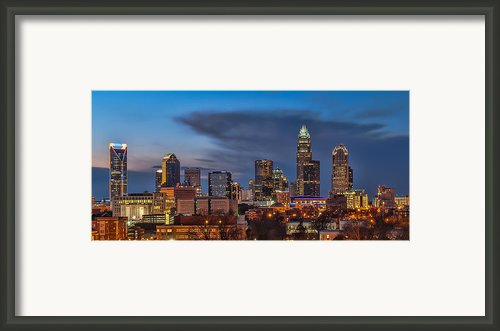 Charlotte North Carolina Framed Print By Brian Young