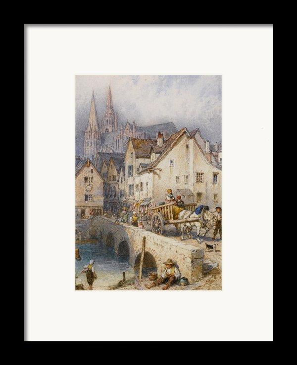Charters Framed Print By Myles Birket Foster