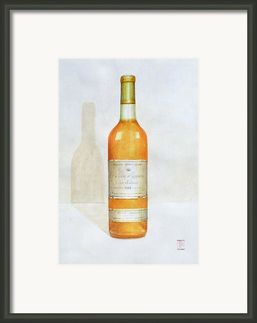 Chateau D Yquem Framed Print By Lincoln Seligman