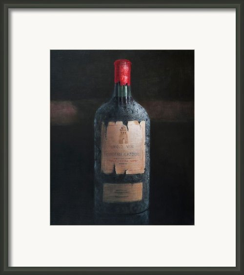 Chateau Latour Framed Print By Lincoln Seligman