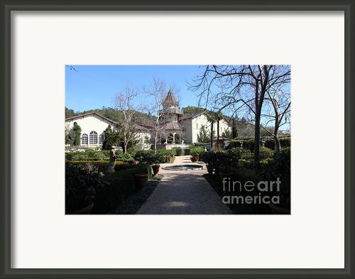 Chateau St. Jean Winery 5d22206 Framed Print By Wingsdomain Art And Photography