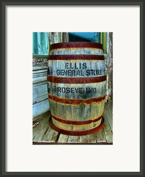 Cheap Advertisement Framed Print By Julie Dant