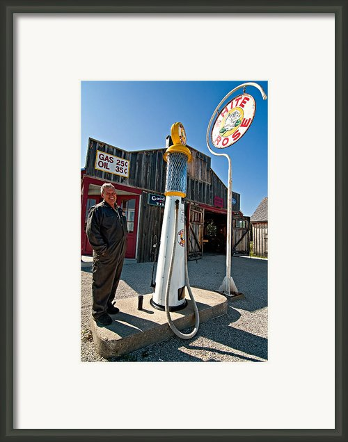 Check Your Oil Sir Framed Print By Steve Harrington