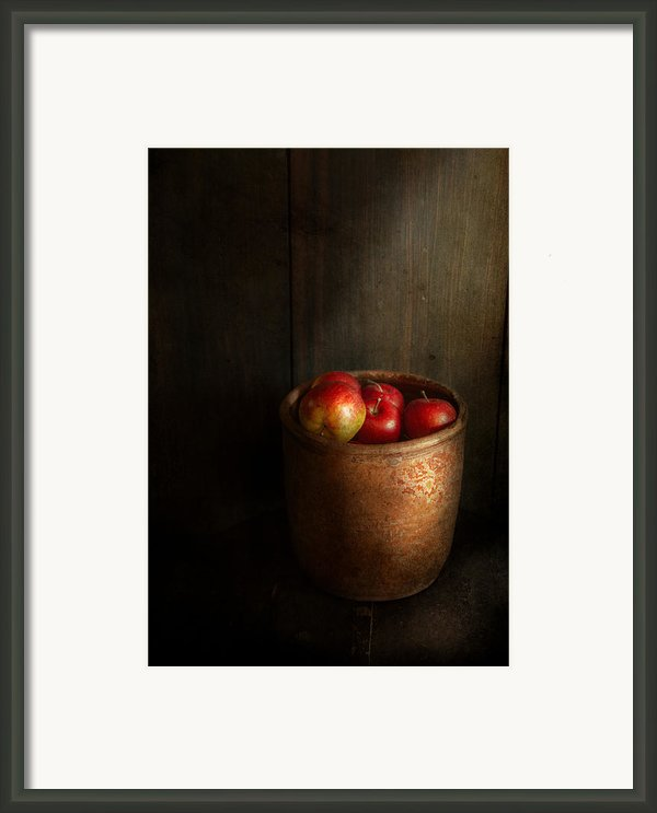 Chef - Fruit - Apples Framed Print By Mike Savad