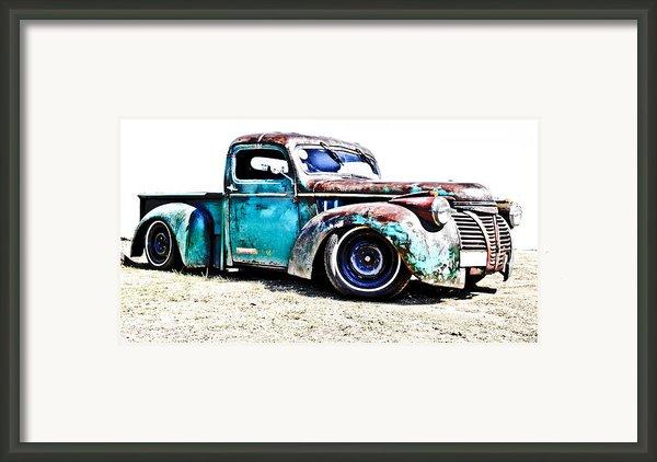 Chevrolet Pickup Framed Print By Phil