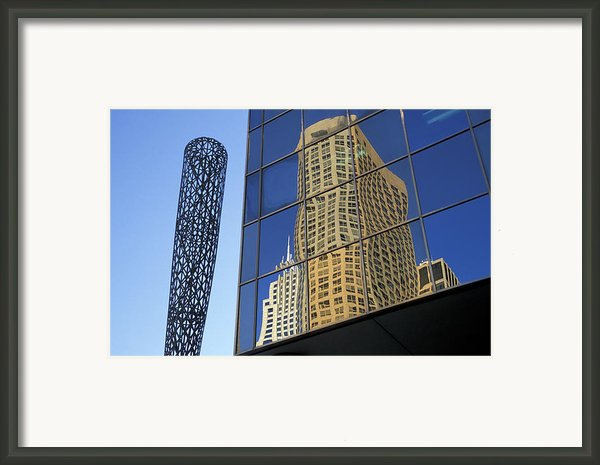 Chicago Baseball Framed Print By Christian Heeb