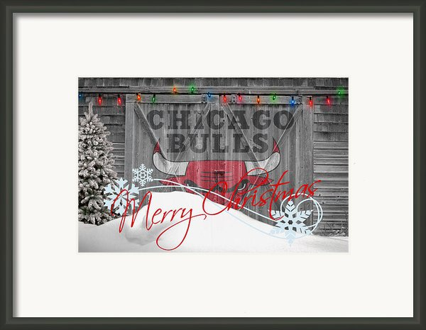 Chicago Bulls Framed Print By Joe Hamilton