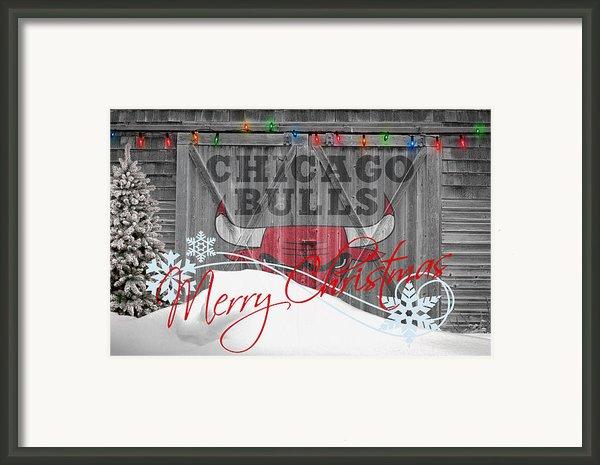 Chicago Bulls Framed Print By Joe Hamilton