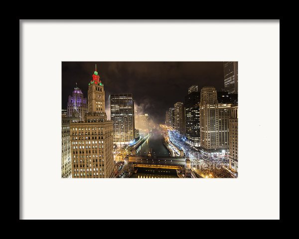 Chicago River Framed Print By Jeff Lewis