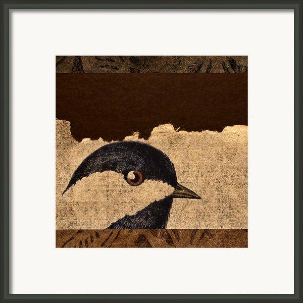 Chickadee Framed Print By Carol Leigh