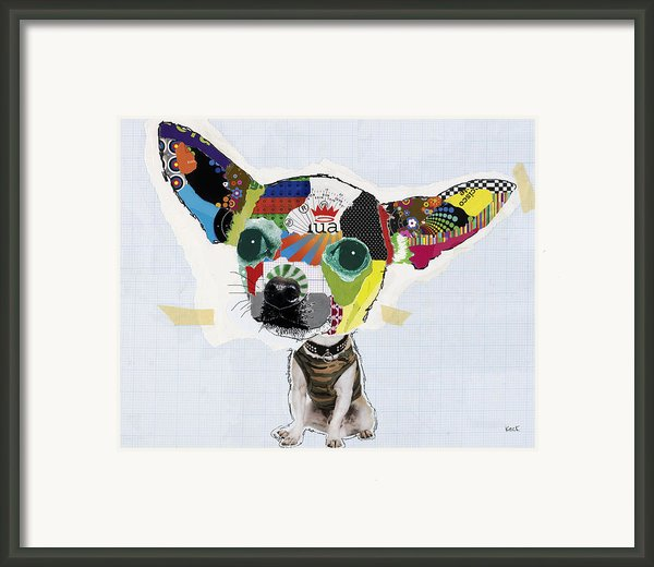 Chihuahua Framed Print By Michel  Keck