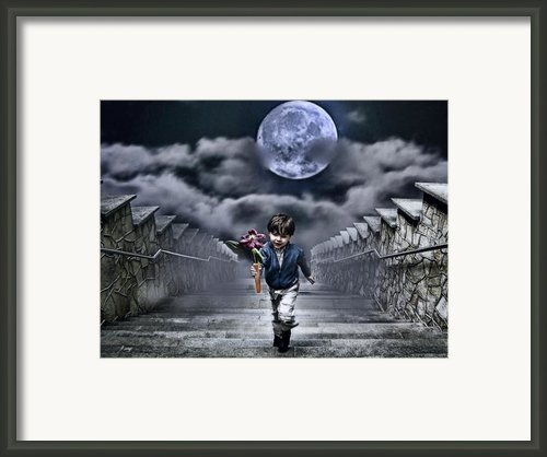 Child Of The Moon Framed Print By Joachim G Pinkawa