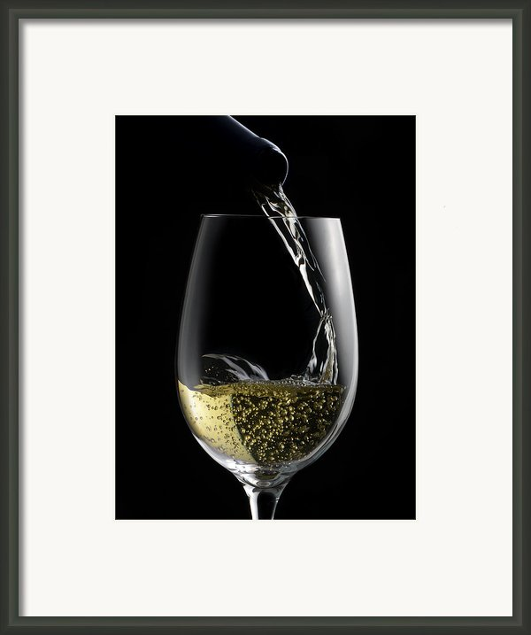 Chilled White Framed Print By Dennis James