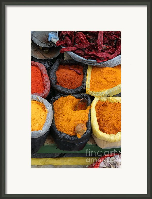 Chilli Powders 3 Framed Print By James Brunker